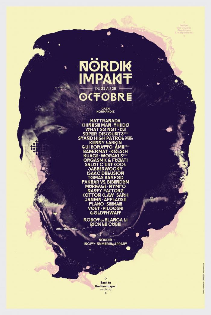 Affiche Nördik Impakt de l'année 2014