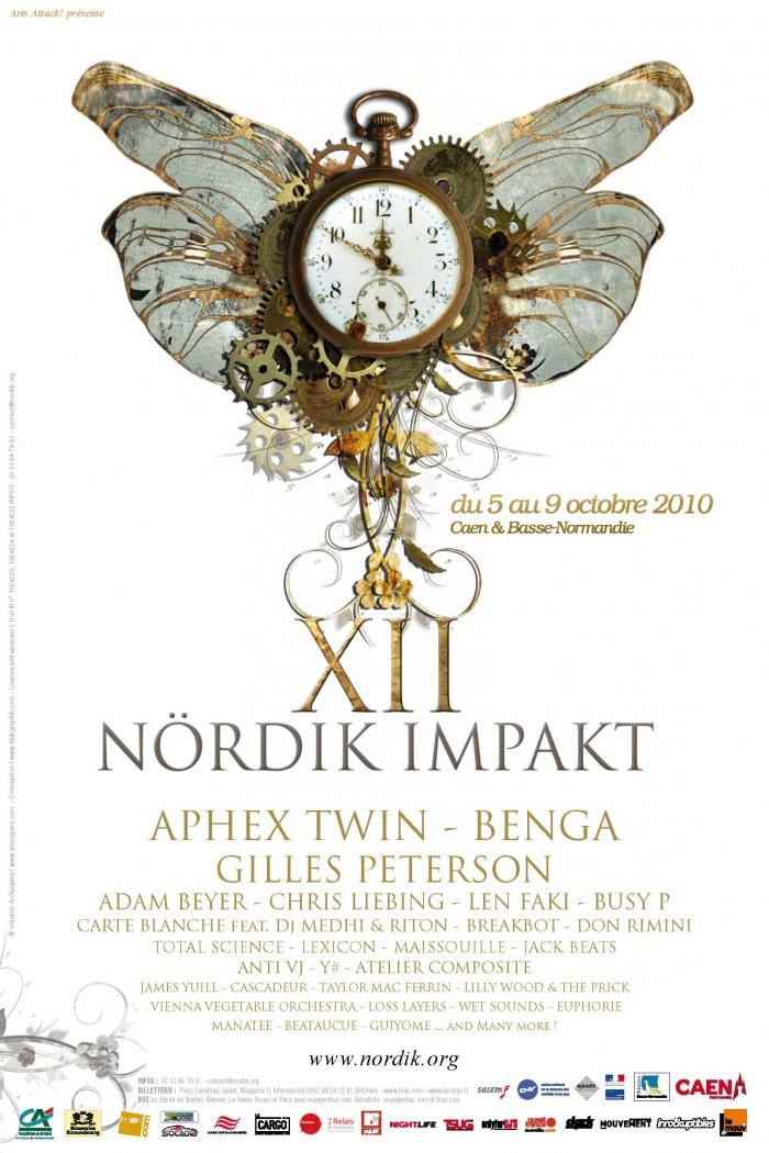 Affiche Nördik Impakt de l'année 2010
