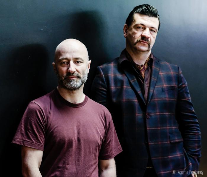 Photographie de Fix Me, Alban Richard avec Arnaud Rebotini
