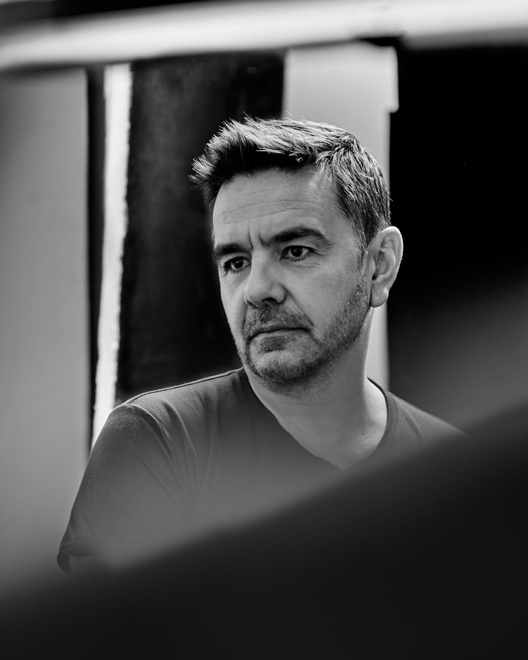 Photographie de Laurent Garnier