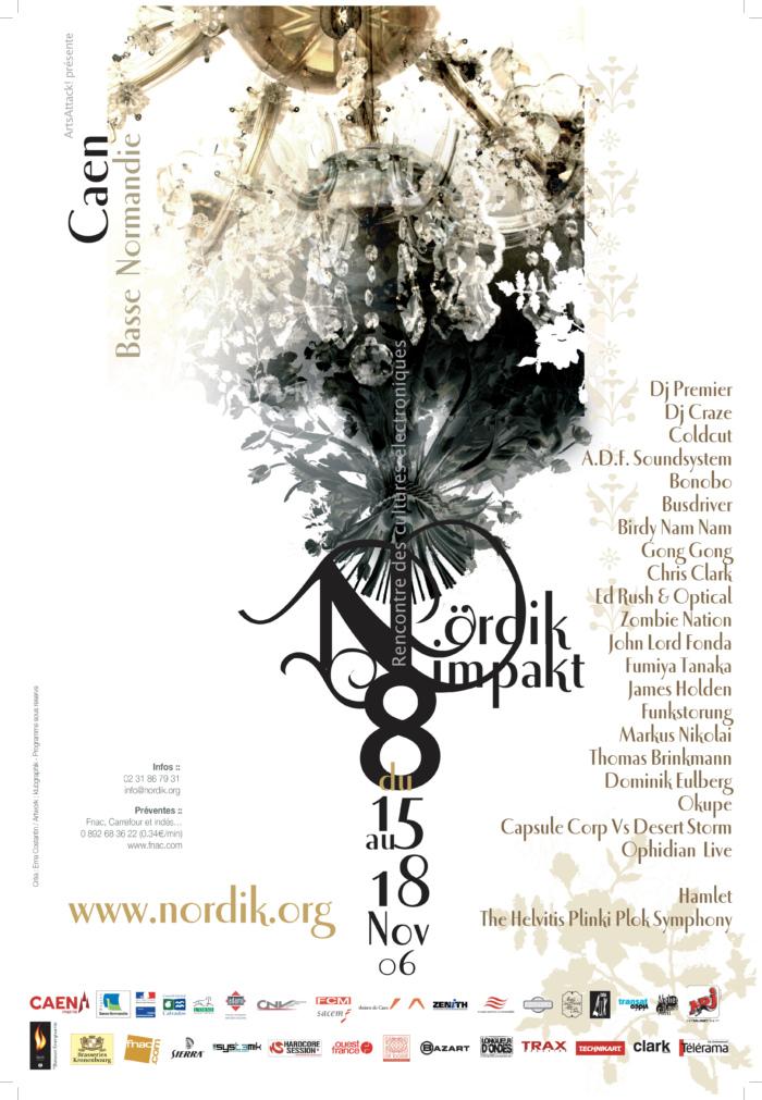 Affiche Nördik Impakt de l'année 2006