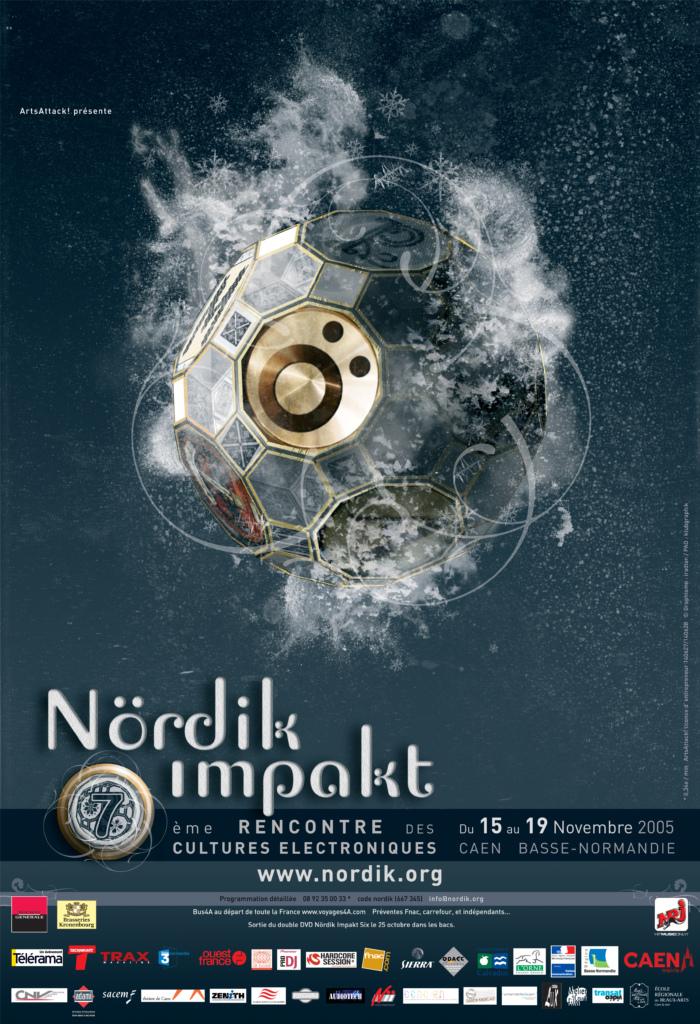 Affiche Nördik Impakt de l'année 2005